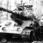Finnish T-34/85 tanks