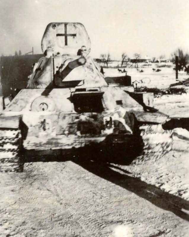 German T-34 Panzer 747 (r)