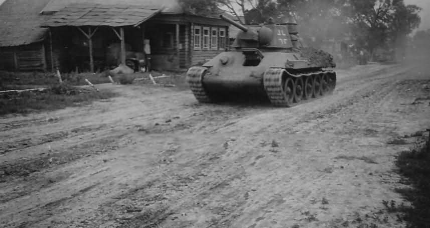 Soviet T-34 tank in German Service 2