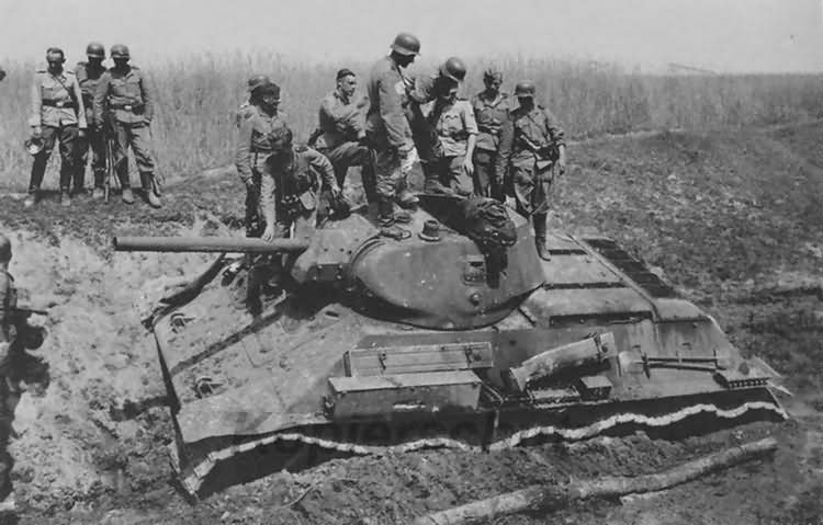 T-34 76 Wolchow eastern front