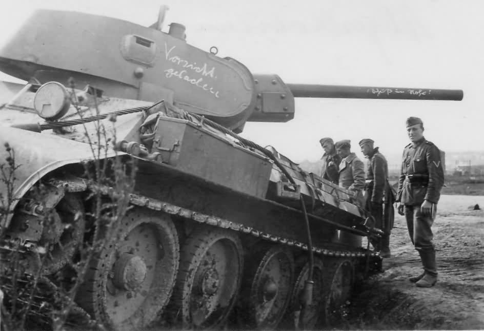 T-34/76 tank Orel 1941