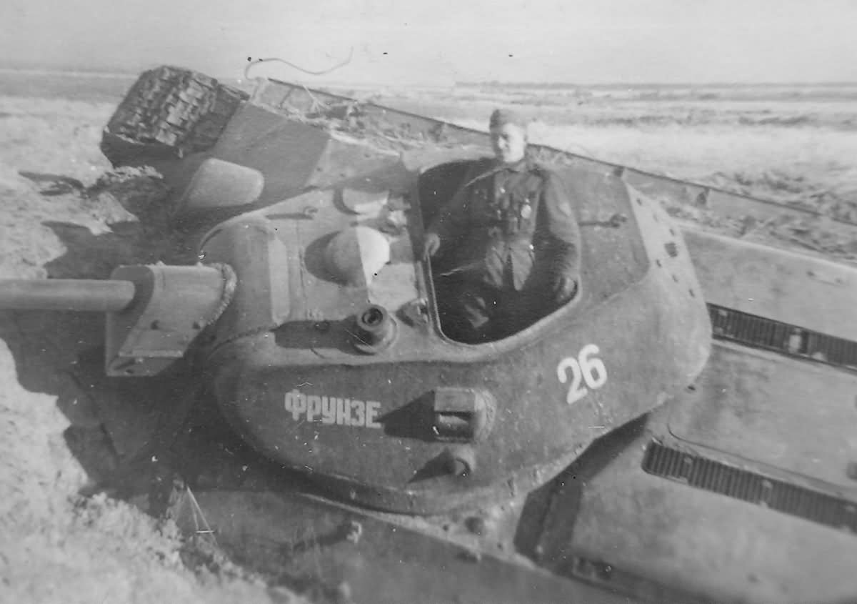 T-34 tank named Frunze number 26 2