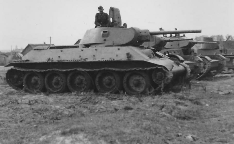 T-34 and BT-7 tanks 10