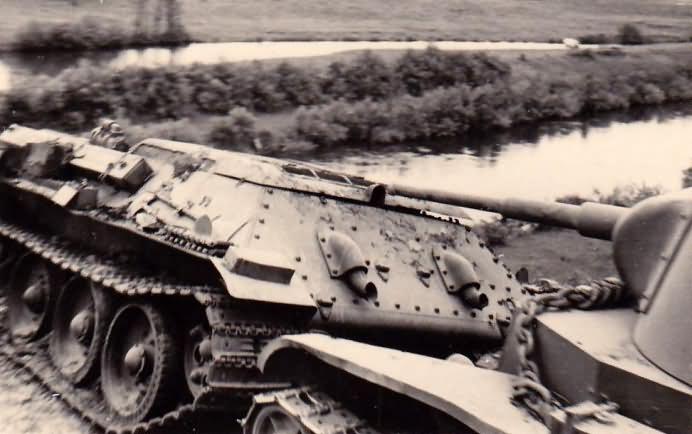 T-34 tank hull