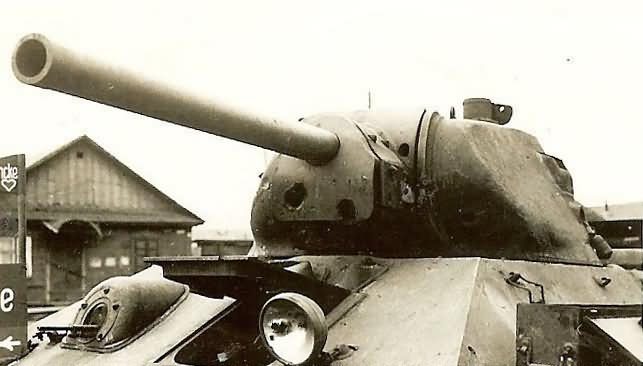 T-34 tank with cast STZ turret