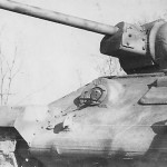 Captured german tank T-34