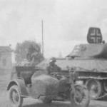 Soviet T-34/76 tank in German Service