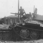 Soviet T-34 tanks 5