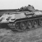 Soviet T-34 tank model 1940