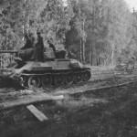 Soviet T-34 tank in German Service – Panzerkampfwagen T-34 747(r)