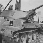 T-34 with cast turret Belarus Luninetz 2