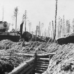 T-34 and KV-1 tanks Finnland