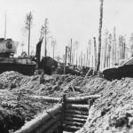 T-34 and KV-1 tanks Finnland