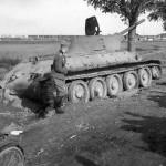 Captured T-34 tank 17