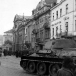 T-34/76 tank on street 19
