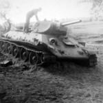 Abandoned T-34 tank 24