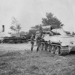 T-34 model 1940 and BT-7 tanks Operation Barbarossa