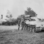T-34 model 1940 and BT-7 tanks Operation Barbarossa