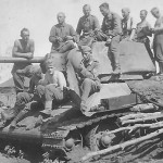 T-34 tank Baranowo August 1942