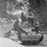 T-34 tank in German Service Lujew February 1943 2