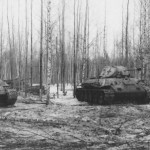 T-34 tanks in German Service Lujew February 1943