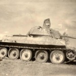 T-34 tank with 76mm gun