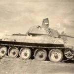 T-34 tank with 76mm gun