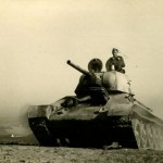 """T-34 tank """"Mickey Mouse"""" in german service"""