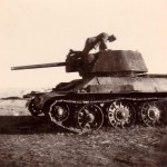 T-34 tank armed with the 76 mm gun F-34 – Plant 183