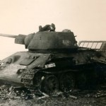 T-34 tank with hexagonal turret, zavod 183