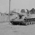 abandoned soviet tank T-34/76
