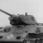 German T-34 76 number 531