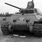 German T-34 number 531 rear view
