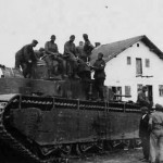 Heavy tank T-35 of the 67th Tank Regiment, 34th Tank Division Red Army