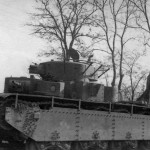 Soviet heavy tank T-35 fitted with radio antenna 2