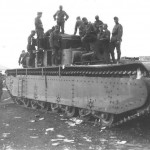 T-35 tank of the 67th Tank Regiment Ukraine 1941
