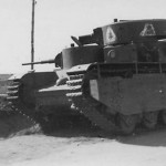 T-35of the 68th Tank Regiment abandoned by the Red Army in the summer of 1941