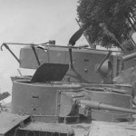 Details of the turret of Soviet tank T-35