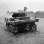 T-37 Soviet Light Amphibious Tank