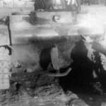 T-37 Soviet amphibious tank rear