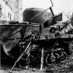 Tank T-37 Brest Litowsk 1941