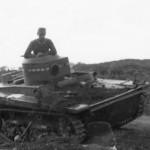 abandoned Soviet T-37 Amphibious Light Tank