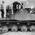 T-40 russian light amphibious tank
