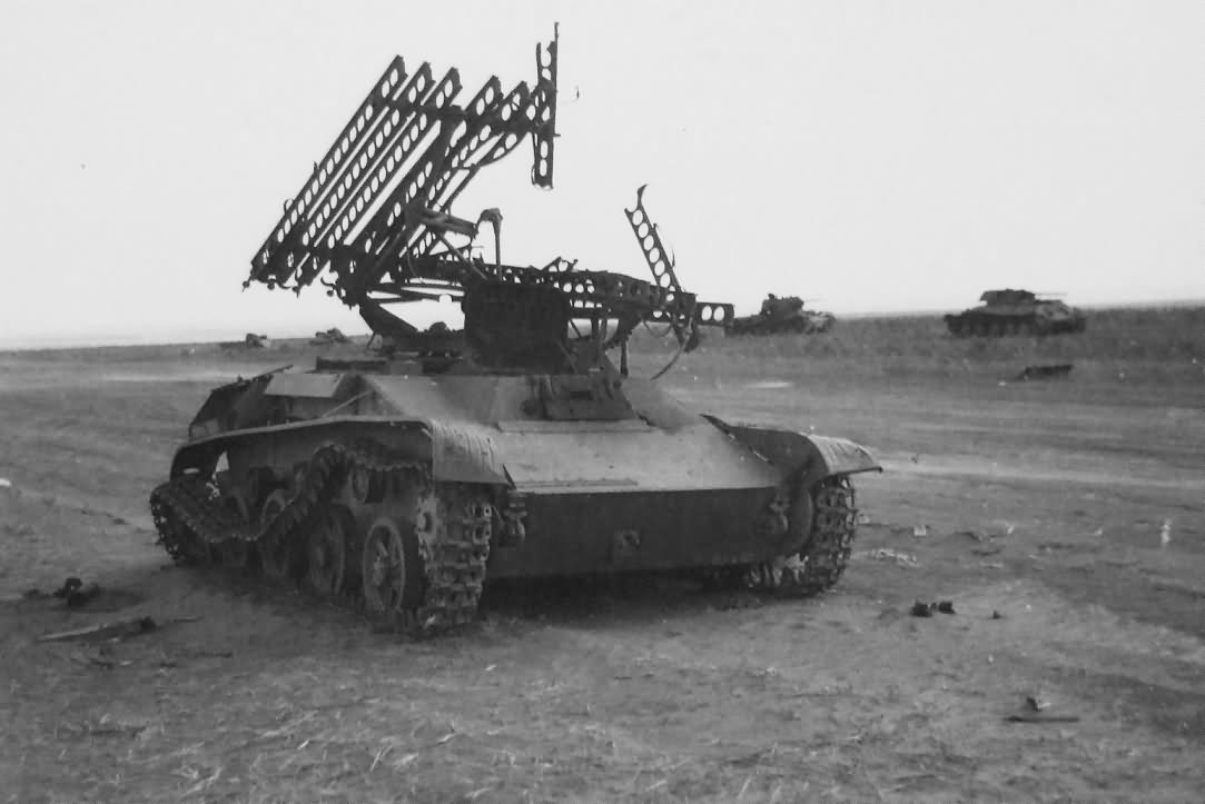 soviet multiple rocket launcher bm 8 24 world war photos. Black Bedroom Furniture Sets. Home Design Ideas