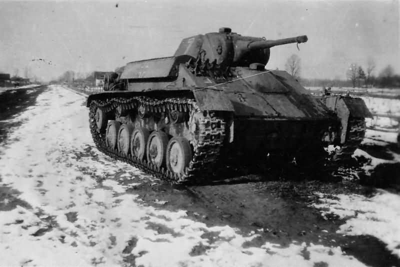 German light tank Panzerkampfwagen T-70 743 (r)