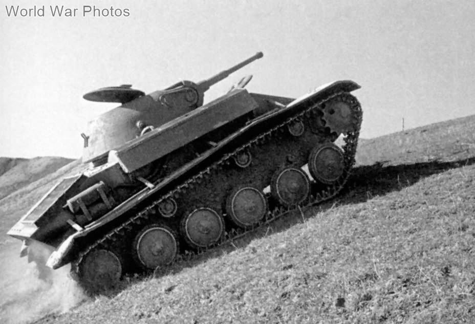 Prototype of T-70: GAZ-70
