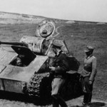 T-70 captured soviet light tank – beute tank with balkenkreuz
