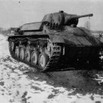 German light tank Panzerkampfwagen T-70 743 (r)