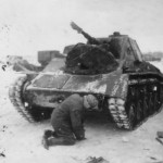 captured soviet light tank T-70 Panzerkampfwagen T-70 743 (r)