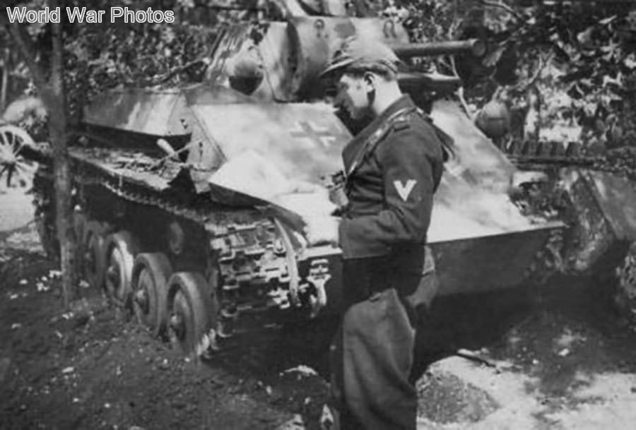 German T-70 of the 46. Infanterie-Division
